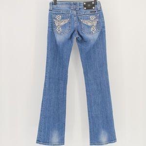 Miss Me Boot Cut Jeans Style JP5117 Sz 28